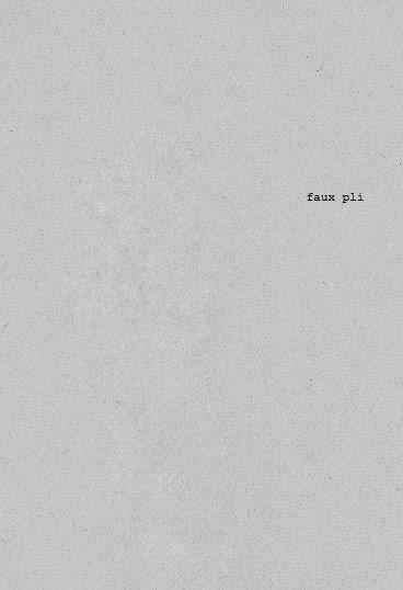 faux pli au format pdf